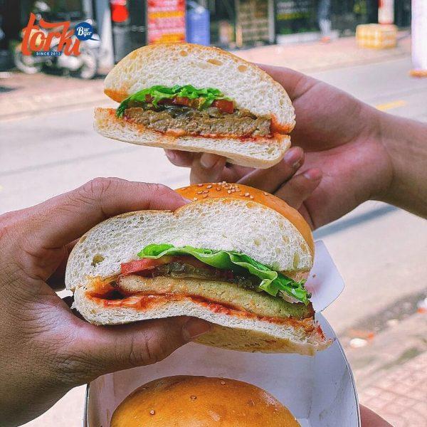 nhượng quyền bánh hamburger
