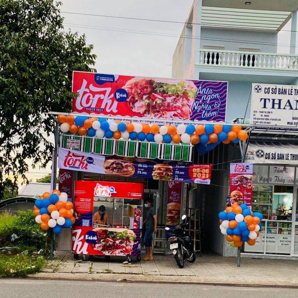 Nhượng quyền kinh doanh hamburger Torki - thương hiệu hàng đầu Việt Nam